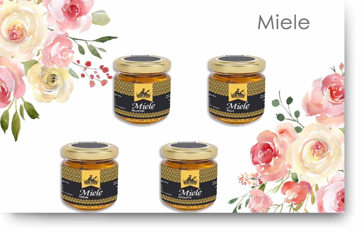 miele con ombra
